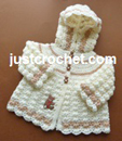Girls Hooded Jacket USA