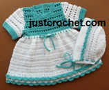 Cotton Dress and Bonnet USA