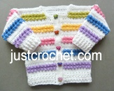 Rainbow Cardigan USA